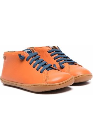 Camper Peu leather lace-up sneaker