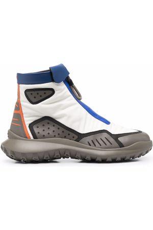 Camper CRCLR panelled zip-up sneakers