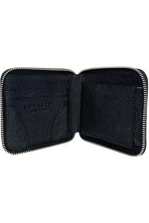 BONASTRE Grained leather wallet