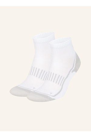 GET FIT 2er-Pack Running-Socken weiss