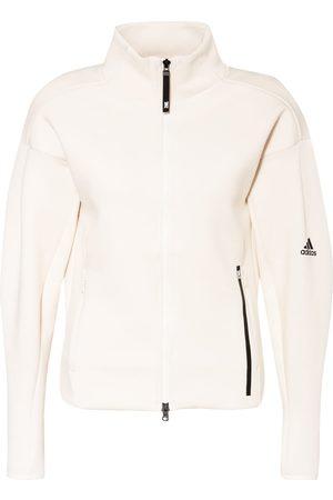 adidas Damen Sweatjacken - Trainingsjacke Z.N.E. beige