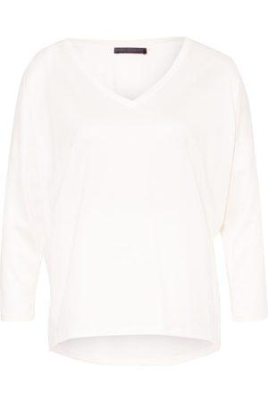 drykorn Damen Lange Ärmel - Shirt Venja Mit 3/4-Arm weiss
