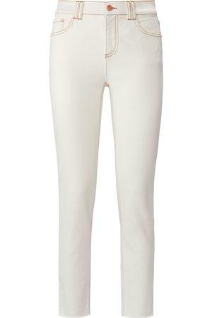 DAY.LIKE Damen Slim - Knöchellange Slim Fit-Jeans weiss