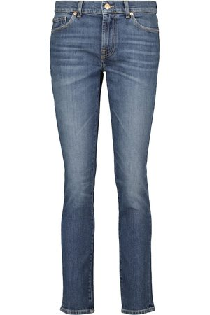 7 for all Mankind Low-Rise Slim Jeans