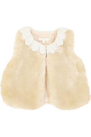 Chloé Baby Weste aus Faux Fur