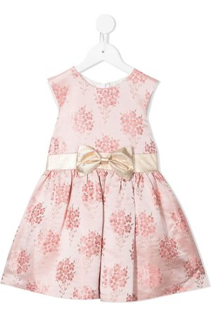 HUCKLEBONES LONDON Mädchen Bedruckte Kleider - Floral jacquard mini dress