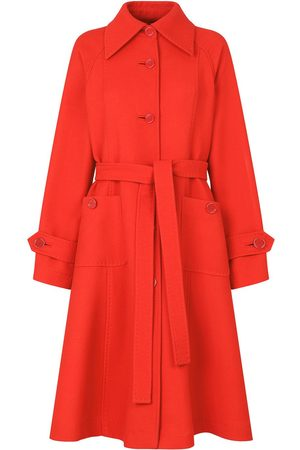 Dolce & Gabbana Damen Trenchcoats - Belted A-line trench coat