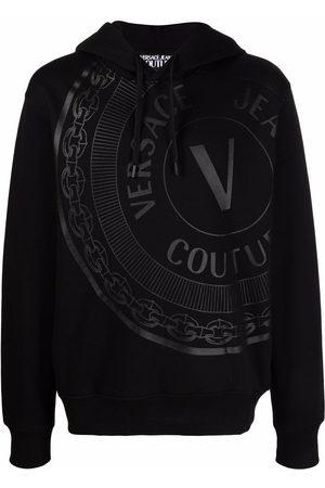 Versace Jeans Couture V-Emblem cotton hoodie