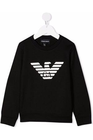 Emporio Armani Kids Logo-print sweatshirt