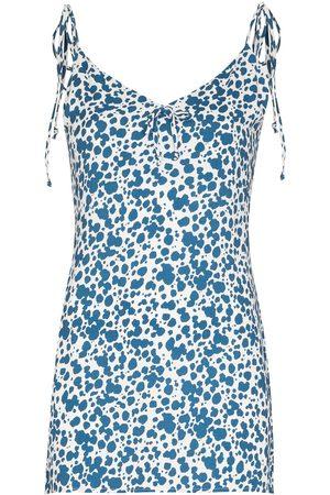 Reformation Damen Freizeitkleider - Chandler dalmatian print minidress