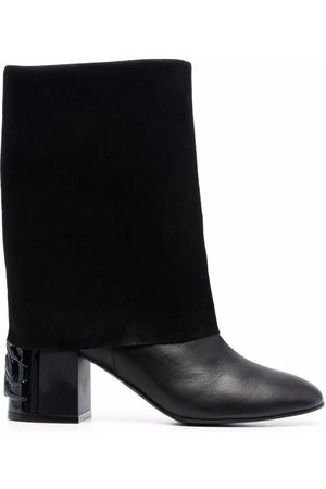 Casadei Panelled leather boots