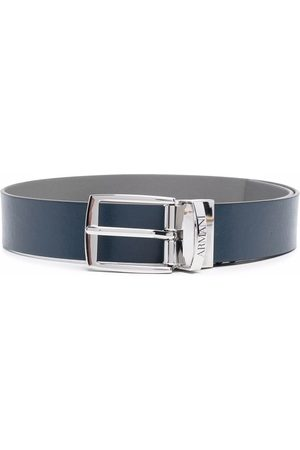 Emporio Armani Buckle-fastening leather belt