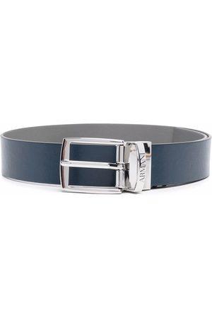 Emporio Armani Kids Buckle-fastening leather belt