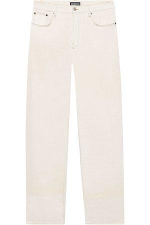 Balenciaga Mid-rise wide-leg jeans