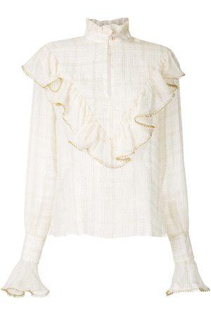 Olympiah Versailles high neck shirt