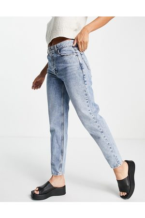 MANGO Mom jeans in blue