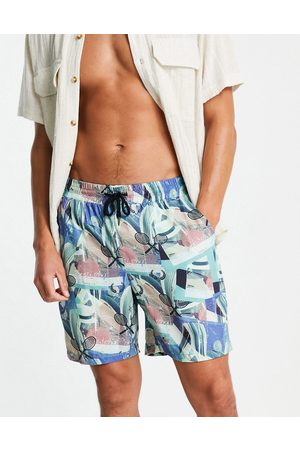 Liquor N Poker Tennis Club havanna print shorts co-ord in multi