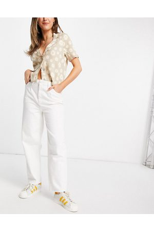 Urban Bliss Loose fit jean in white