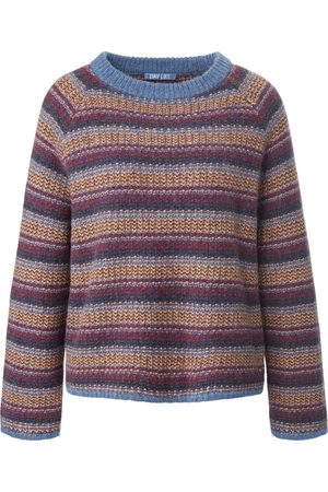 DAY.LIKE Damen Pullover - Rundhals-Pullover mehrfarbig