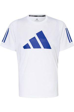 adidas Herren Shirts - T-Shirt Freelift weiss