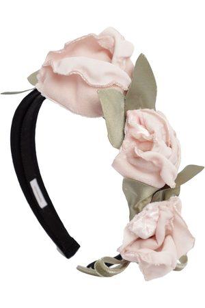 MONNALISA Haarreif Mit Blumenbesatz