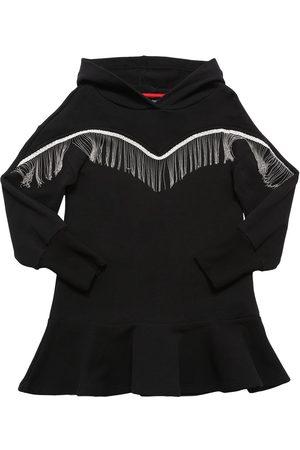MONNALISA Damen Kleider - Kleid Aus Baumwollmischfleece