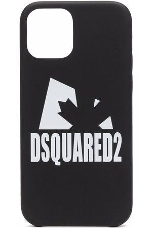 Dsquared2 Herren Handy - Logo-print iPhone 12 case