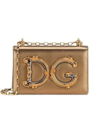 Dolce & Gabbana DG Girls baroque logo bag