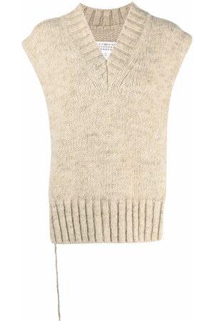 Maison Margiela Damen Strickpullover - Chunky-knit jumper poncho