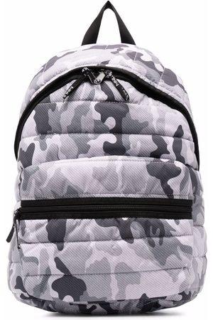 MONNALISA Jungen Rucksäcke - Camouflage-print puffer backpack