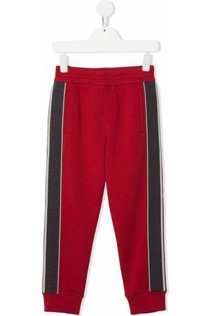 Emporio Armani Jungen Hosen & Jeans - Side logo-print track pants
