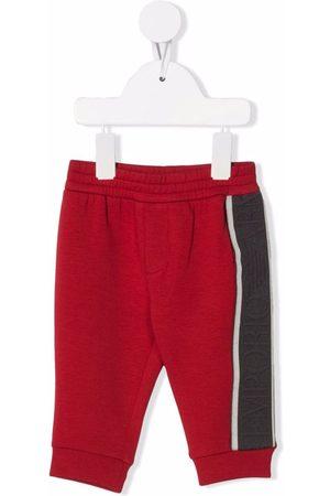 Emporio Armani Elasticated waistband trousers