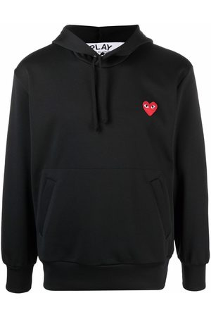 Comme des Garçons Heart-print pullover hoodie