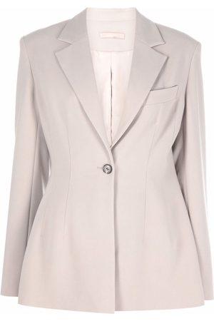 12 STOREEZ Damen Blazer & Sakkos - Fitted single-breasted blazer