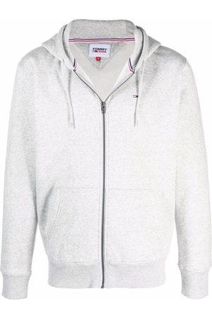 Tommy Hilfiger Herren Sweatshirts - Flag patch rib-trimmed hoodie