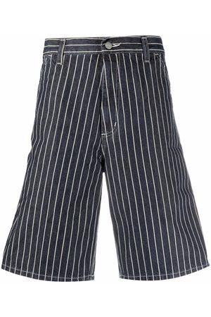 Carhartt Herren Shorts - Stripe-print bermuda shorts