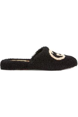 Gucci Damen Halbschuhe - Interlocking G merino slippers
