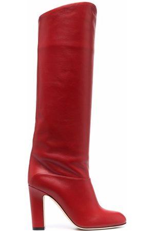 PARIS TEXAS Damen Stiefel - PX634XNPP3 lipstick Leather/Fur/Exotic Skins->Leather