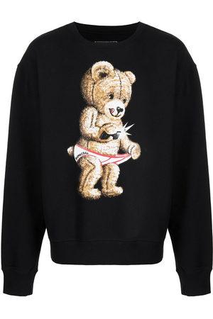 DOMREBEL Herren Sweatshirts - Snap graphic-print sweatshirt