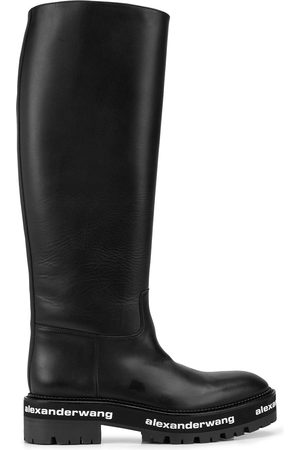 Alexander Wang Sanford leather riding boot