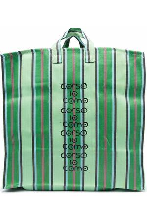 10 CORSO COMO Herren Shopper - Logo-print tote bag