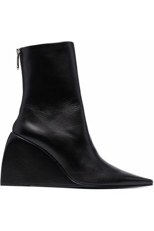 OFF-WHITE Damen Stiefeletten - Doll wedge ankle boots
