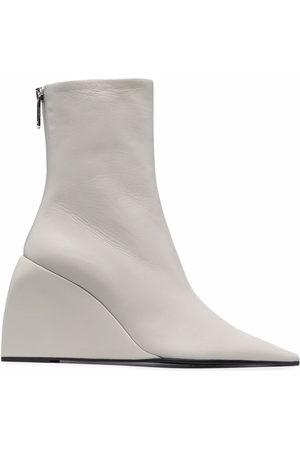 OFF-WHITE Damen Stiefel - Dolls wedge boots