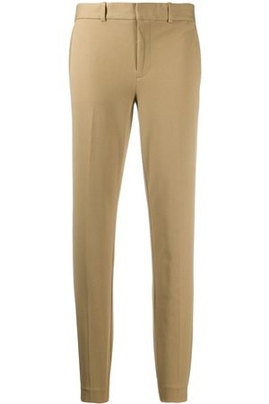 Polo Ralph Lauren Mid-rise tapered-leg trousers