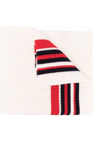 Moncler Ribbed striped scarf