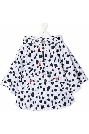 Stella McCartney Mädchen Regenjacken - Dalmatian spots cape