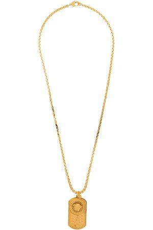 VERSACE Herren Halsketten - Medusa dog-tag chain necklace