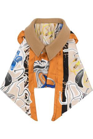 Maison Margiela Damen Schals - Oversize collar draped scarf