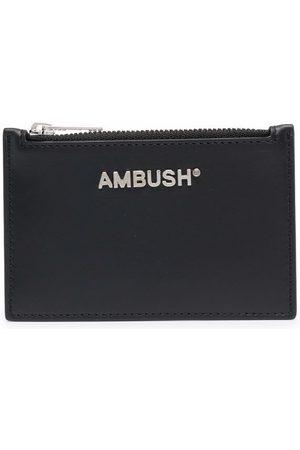 AMBUSH Logo-plaque card holder