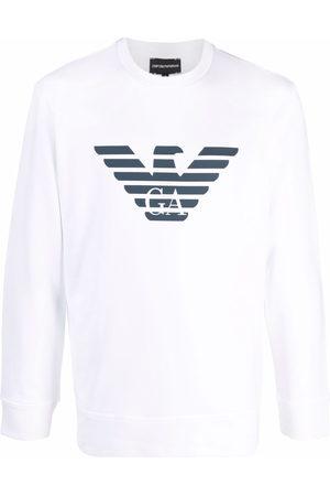 Emporio Armani Herren Sweatshirts - Logo-printed sweatshirt